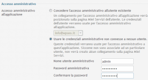 Configurazione Account Admin WordPress WpSEO