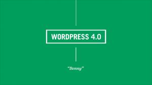 wordpress 4 benny 300x168 WordPress 4.0