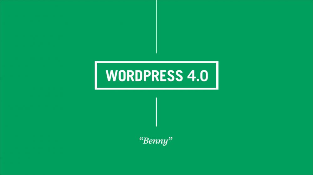 Arriva WordPress 4.0 con tante novità