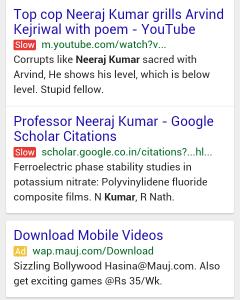 google mobile slow label 240x300 SEO e Mobile: un sito ottimizzato a portata di Smartphone