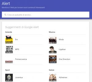 google alert 300x266 Consulenza SEO e scelta Keywords: un Selfie fa la differenza