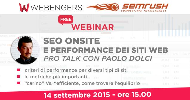 WpSeo e Semrush: un Pro Talk sulla Consulenza Seo
