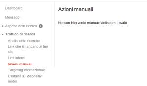 nessun intervento spam 300x176 Blackhat SEO: Uscire dalla Penalizzazione Google in 5 giorni! [CASE STUDY]