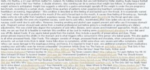 spam comment 300x140 Blackhat SEO: Uscire dalla Penalizzazione Google in 5 giorni! [CASE STUDY]