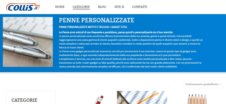 Cover Categorie Prodotti WordPress