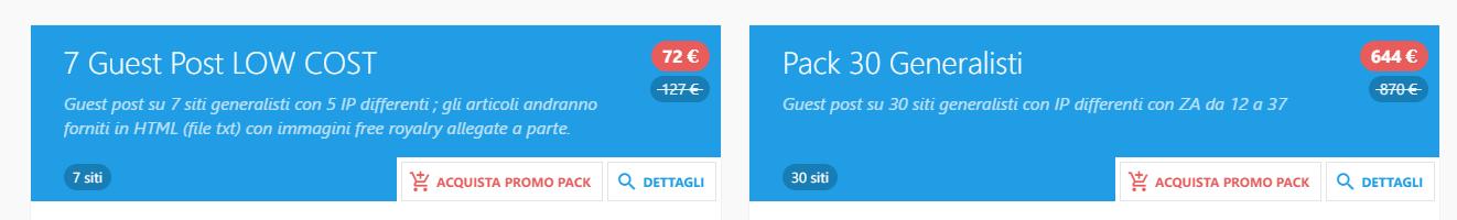 Promo Pack Premium Link