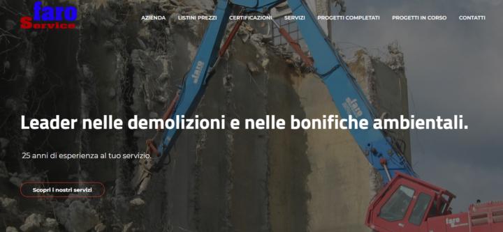 Faro service homepage