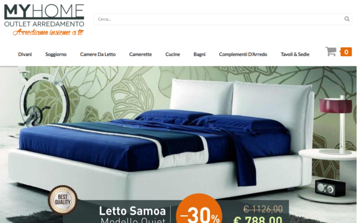 Myhome homepage